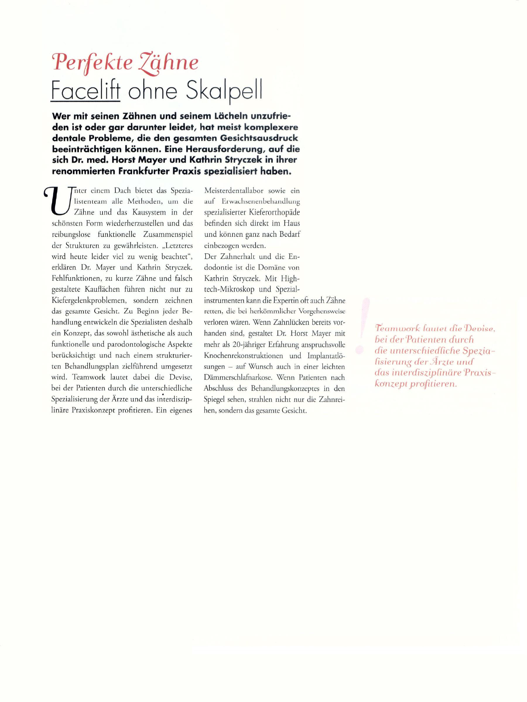 """""""Beauty Medizin"""", Informationsbroschüre der Deutschen Stiftung für Gesundheitsinformation, 2008"""